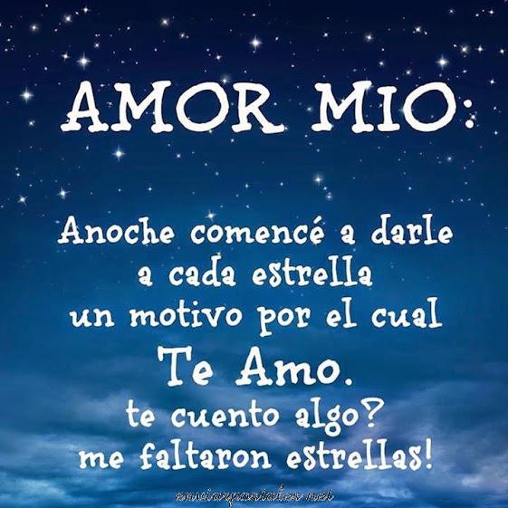 Amor Mio-Me faltaron estrellas