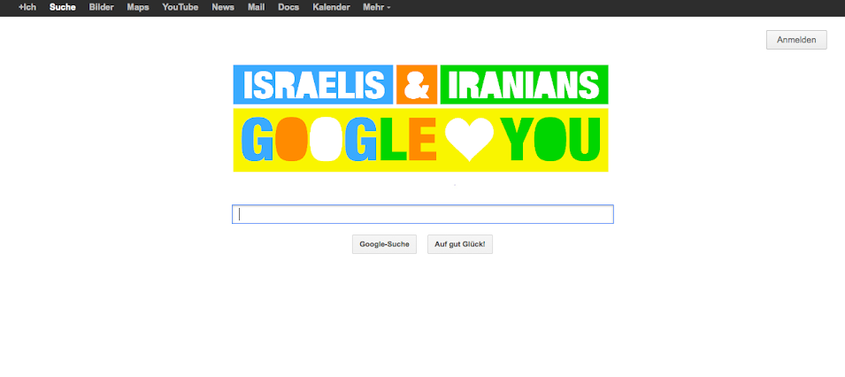 Google loves Israelis and Iranians