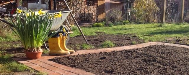 gemusebeet umrandung – godsriddle, Gartengestaltung
