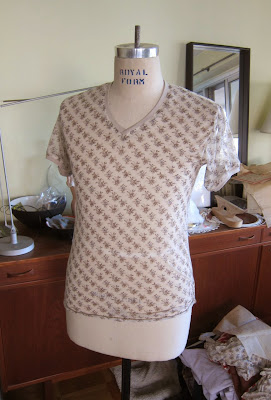 rayon knit tee