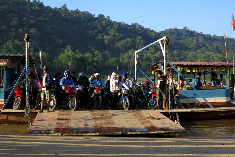 Moped ferry