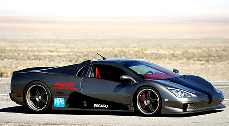 The Ultimate Aero Is Originally A Really Fast Gas Car; Like 0 60 In Under 3  Seconds Fast. The Electric Version Of This Car Does Not Disappoint.