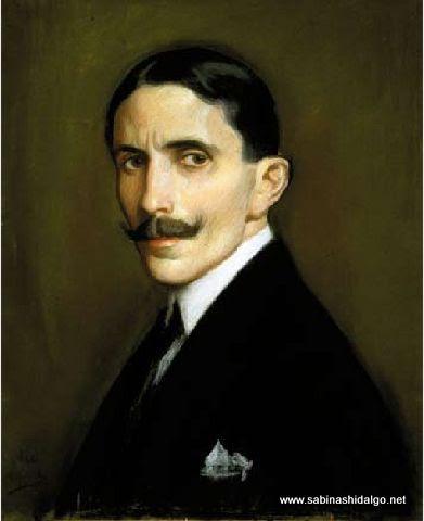 Autorretrato del pintor Alfredo Ramos Martínez