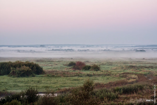 фото ранок в долині річки Стир