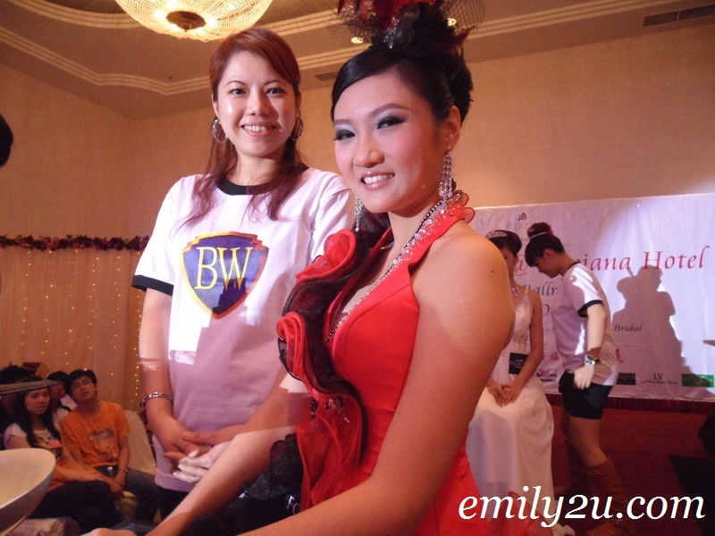 Hair & Make Up Show @ Impiana Wedding Fair | From Emily To You