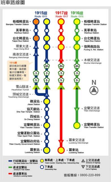 葛瑪蘭汽車客運~台北←→羅東