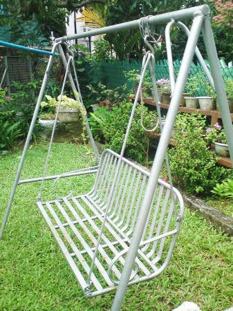 Metal Outdoor Swing