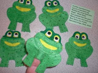 five little speckled frogssong pdf