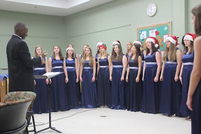 womens ensemble marriotts ridge music