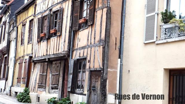 Calles de Vernon, Francia, Elisa N, Blog de Viajes Argentina