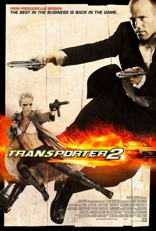 Poster Of Transporter 2 (2005) Full Movie Hindi Dubbed Free Download Watch Online At alldownloads4u.com