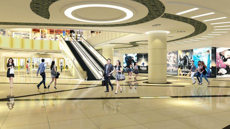 Trung tâm thương mại tại dự án Bộ Công An - Cổ Nhuế