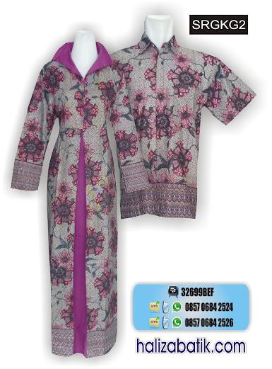 grosir batik pekalongan, Model Seragam, Sarimbit Muslim, Baju Sarimbit Batik