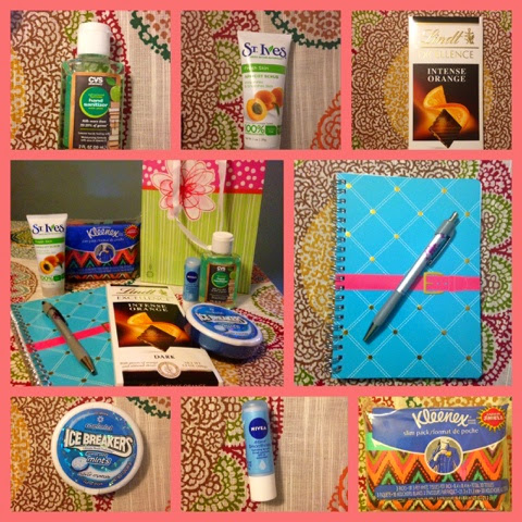 kitschy homeschool d i y care package for chemo patients
