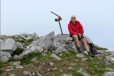 Anboto mendiaren gailurra 1.331 m. -  2012ko abuztuaren 1ean