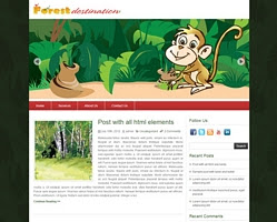 Forest Desination by zebrathemes.com