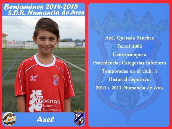 ADR Numancia de Ares. AXEL