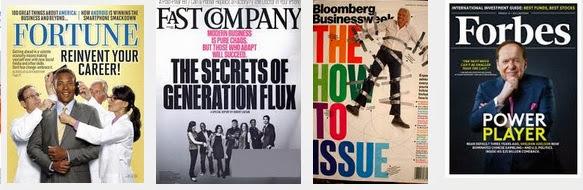 En estados Unidos se venden más las revistas de negocios que de moda