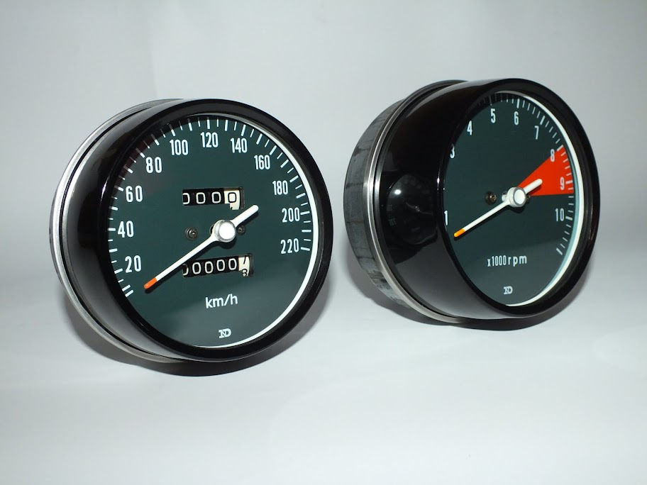 Gauge RESTORATION services - CB750faces com