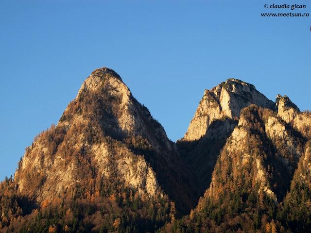 Claia Mare în stânga, Clăiţa în dreapta şi între dumnealor, Valea Seacă