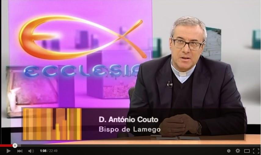 Vídeo - D. António Couto no programa Ecclesia: sexta-feira Santa
