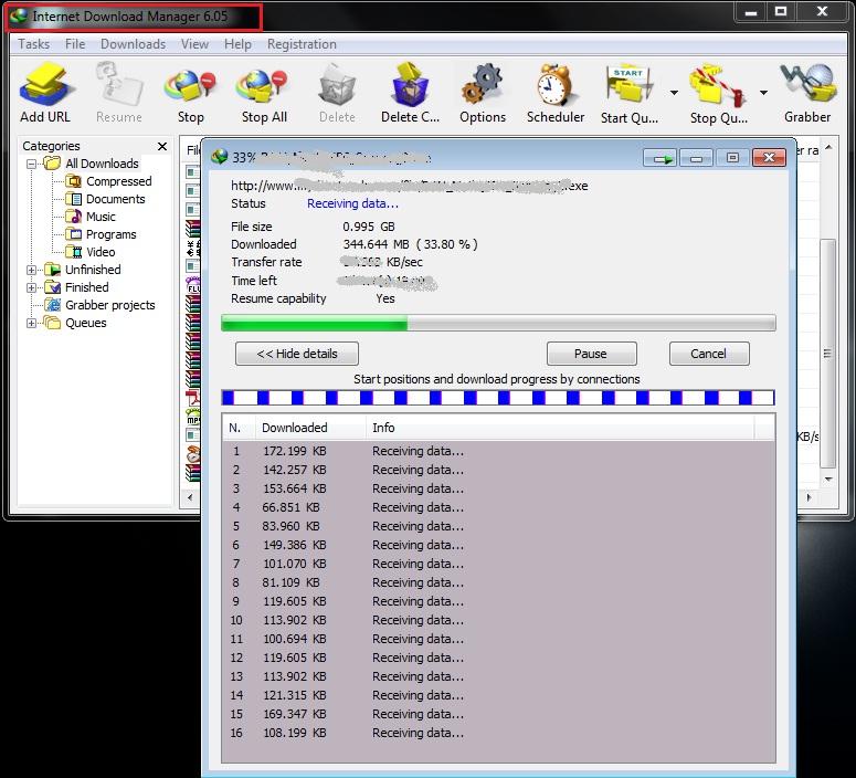 Internet Download Manager v6.05 A