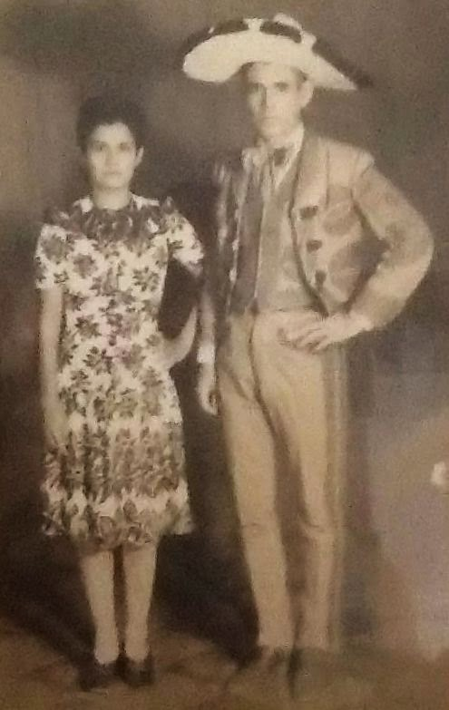 Hilario De Leon Duron born and Maria Isabel Garcia Gonzalez