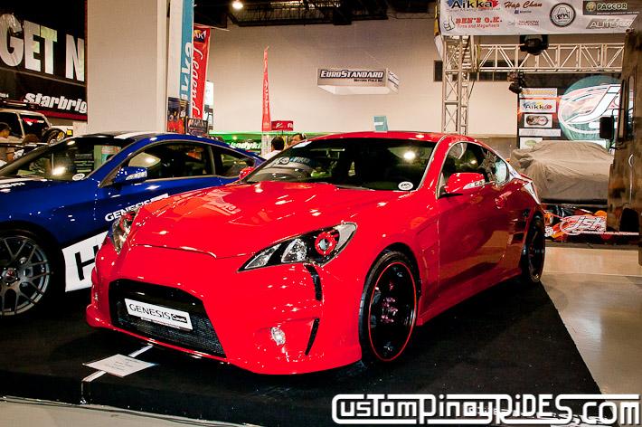 Hyundai Genesis Coupe Body Kit Designs by Atoy Customs 2012 Manila Auto Salon Custom Pinoy Rides pic3