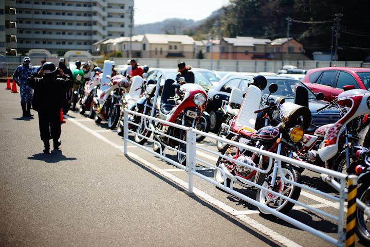 motorbikes in kurihama