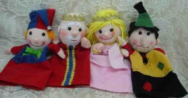 Nube lim n ideas hechas a mano marionetas - Como hacer marionetas de mano ...