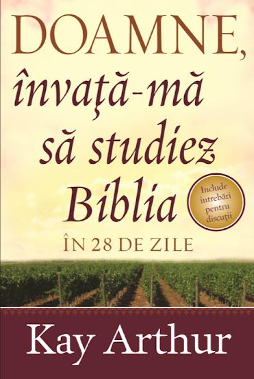 Doamne, învață-mă să studiez biblia în 28 zile!