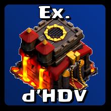 Exemples d'HDV maximisés