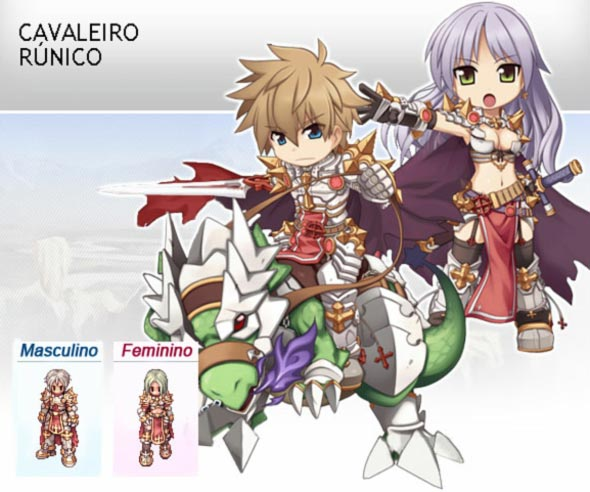 As Novas Terceiras Classes Do Ragnarok Online
