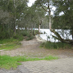 Boat ramp area at Violet Hill camping