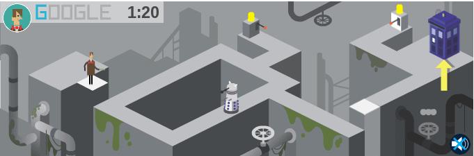 Google-Doodle Spiel: Dr. Who