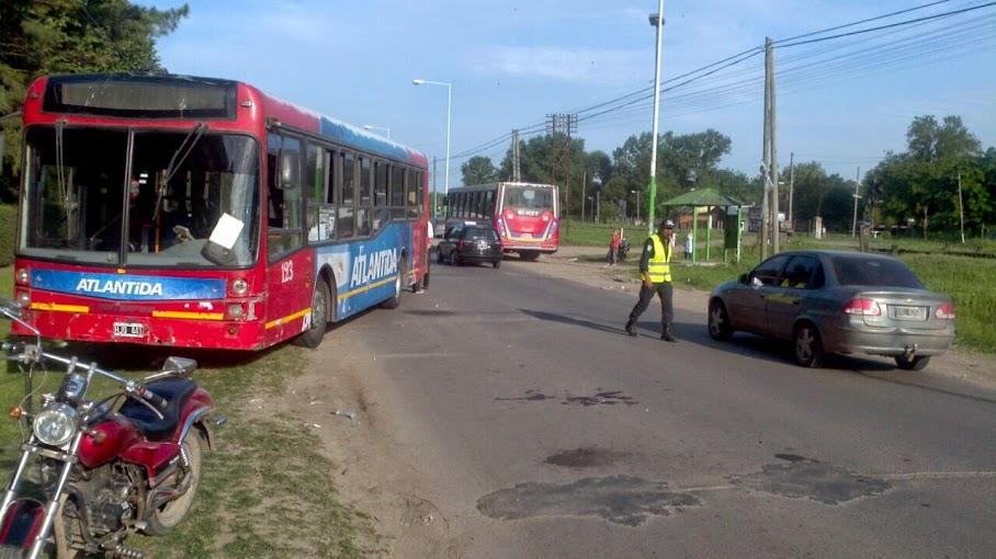 Accidente múltiple en Ruta 7, auto chocado y abandonado y popurrí de conflictos y delitos