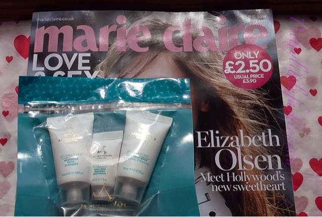 June Marie Claire Magazine and Aromatherapy Associates
