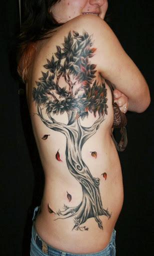 tree tattoos for girls