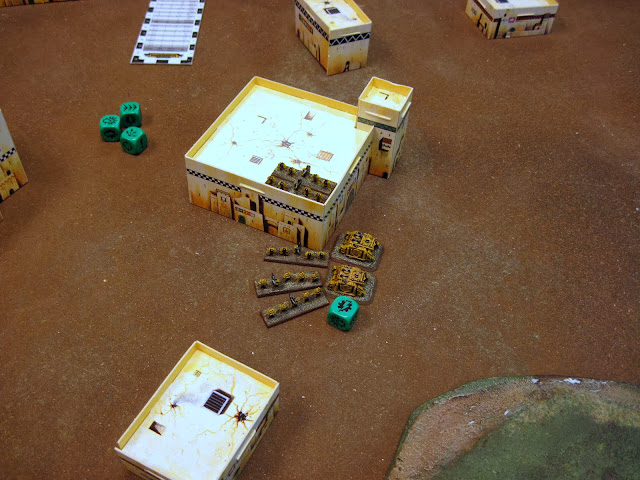 Tacticals hold the first objective.