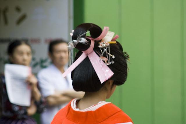 Peinado de geisha, Hakone