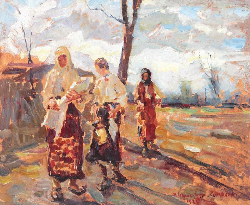 Rudolf Schweitzer-Cumpăna - Botez la ţară