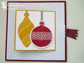 stampin up ornament keepsakes more merry messages wunderbare weihnachtsgrüße