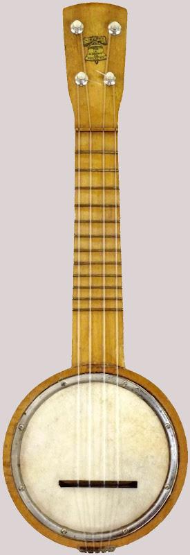 Schoenhut Liberty Bell pocket mini sopranino banjolele Banjo Ukulele