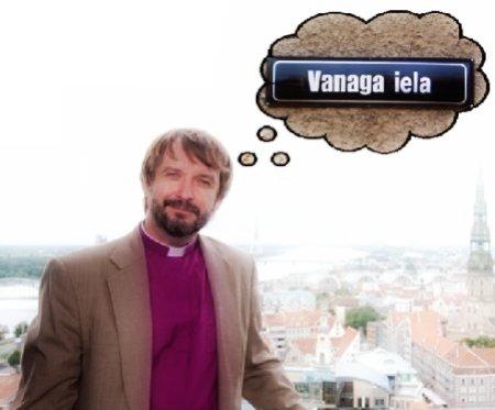 Rīgas arhibīskapa Jāņa Vanaga iela - tas ir 1. aprīļa joks