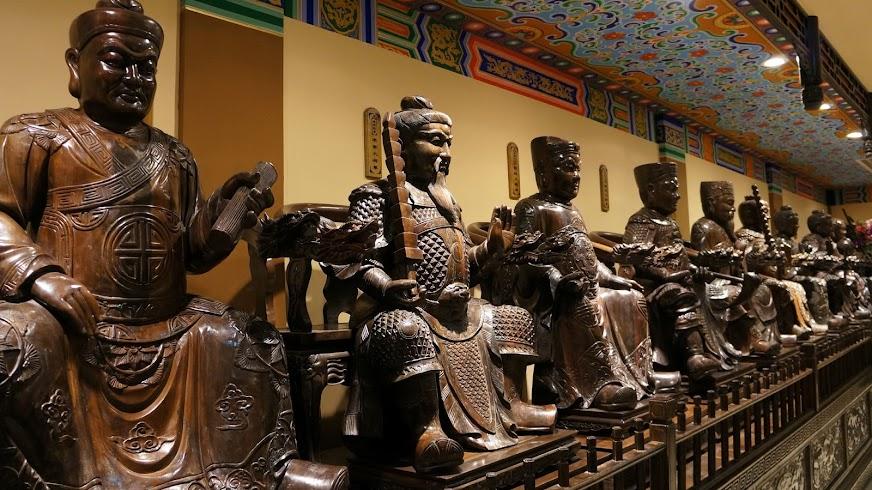 Sichuan Ebony Museum, Taoist Figures