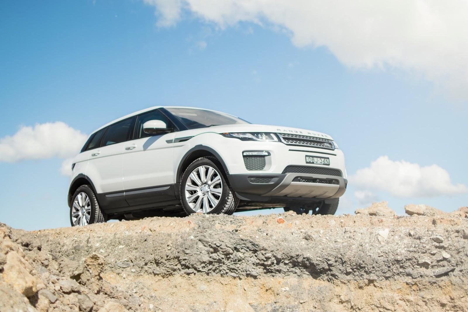 Range Rover Evoque là mẫu xe tạo nhiều cảm hứng và khác biệt