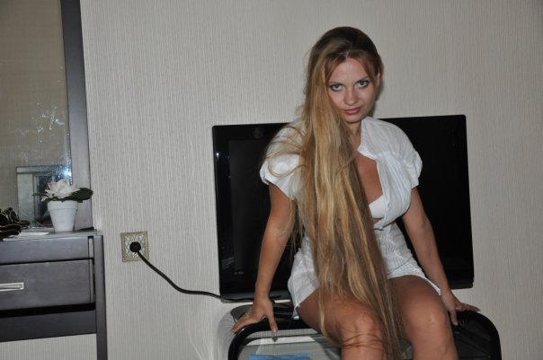 really great long hair girl