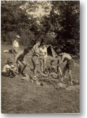 1954 Campo Espoloratori a Camaldoli