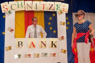 Wenigstens zur Fasnachtszeit gibt's in Bullach wieder eine Bank.