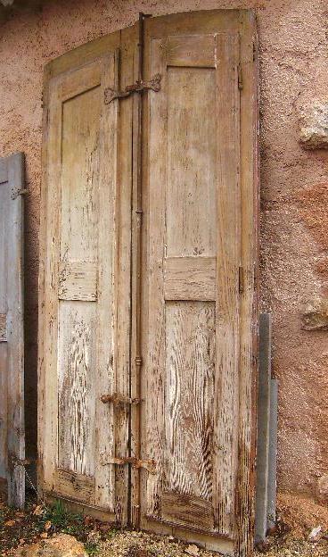 wwwdidoulabrocantefr ANCIEN FENETRE CONTRE VOLETS BOIS LOFT ~ Ancien Volet Bois